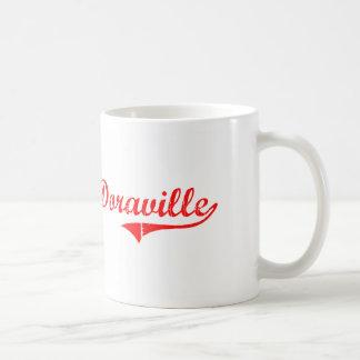 Diseño clásico de Doraville Georgia Taza Básica Blanca