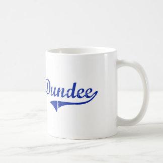 Diseño clásico de Dundee la Florida Taza Básica Blanca