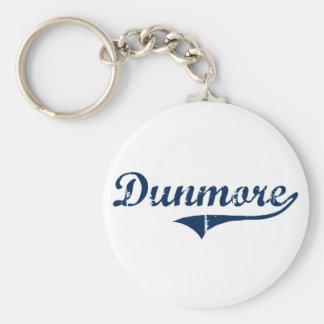 Diseño clásico de Dunmore Pennsylvania Llavero Redondo Tipo Pin