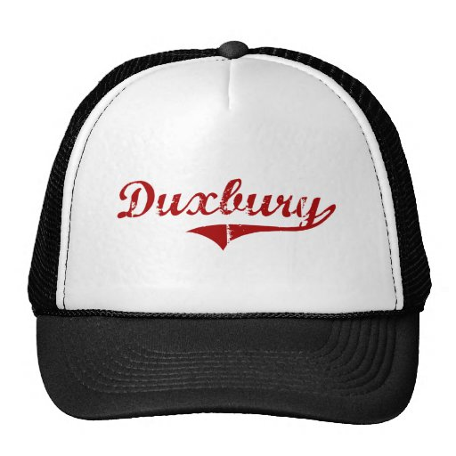 Diseño clásico de Duxbury Massachusetts Gorras De Camionero