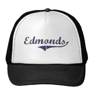Diseño clásico de Edmonds Washington Gorras De Camionero