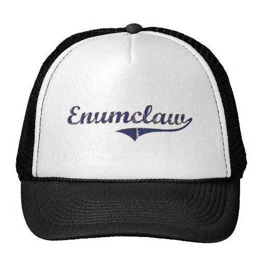 Diseño clásico de Enumclaw Washington Gorras De Camionero