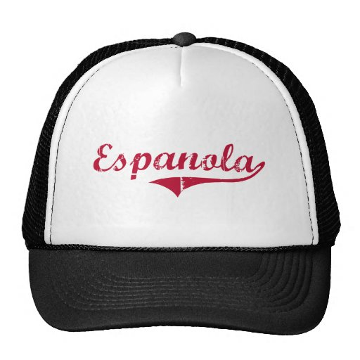 Diseño clásico de Espanola New México Gorras De Camionero