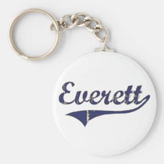 Diseño clásico de Everett Washington Llaveros