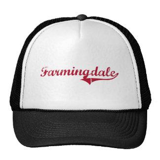 Diseño clásico de Farmingdale New Jersey Gorro