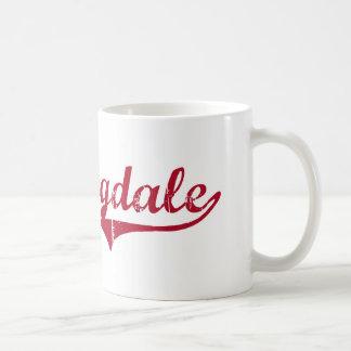 Diseño clásico de Farmingdale New Jersey Tazas De Café