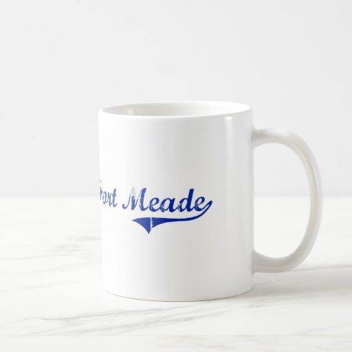 Diseño clásico de Fort Meade la Florida Tazas De Café