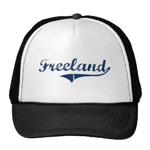 Diseño clásico de Freeland Pennsylvania Gorro