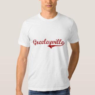Diseño clásico de Greeleyville Carolina del Sur Playera