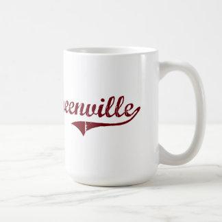 Diseño clásico de Greenville Alabama Taza Clásica