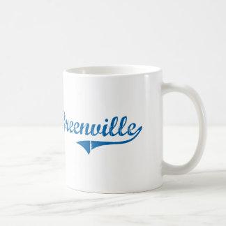 Diseño clásico de Greenville Kentucky Taza