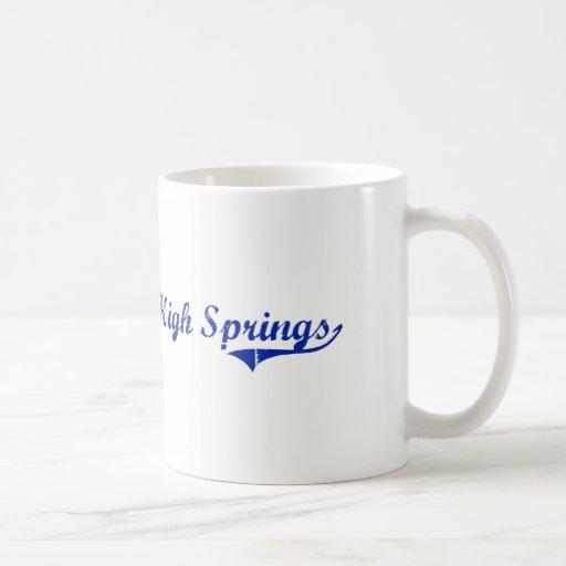 Diseño clásico de High Springs la Florida Taza Clásica