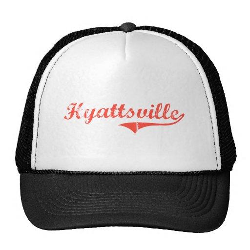 Diseño clásico de Hyattsville Maryland Gorras