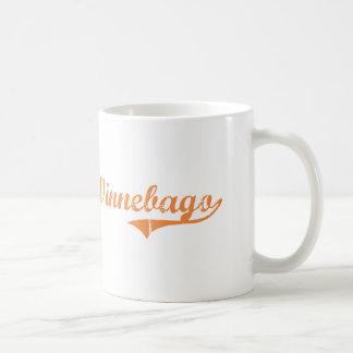 Diseño clásico de Illinois del Winnebago Taza Básica Blanca