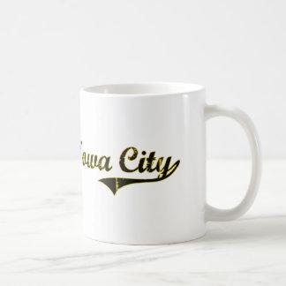 Diseño clásico de Iowa City Iowa Taza