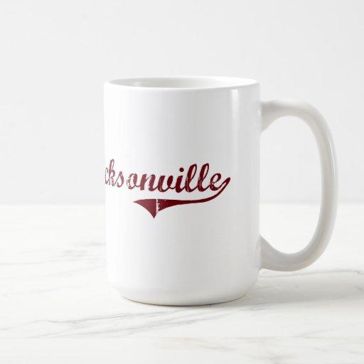 Diseño clásico de Jacksonville Alabama Taza De Café