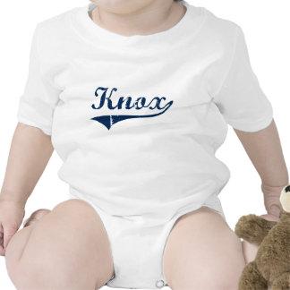 Diseño clásico de Knox Pennsylvania Trajes De Bebé