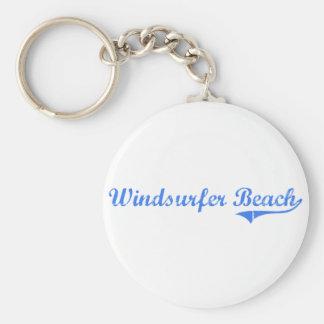 Diseño clásico de la Florida de la playa del Winds Llavero