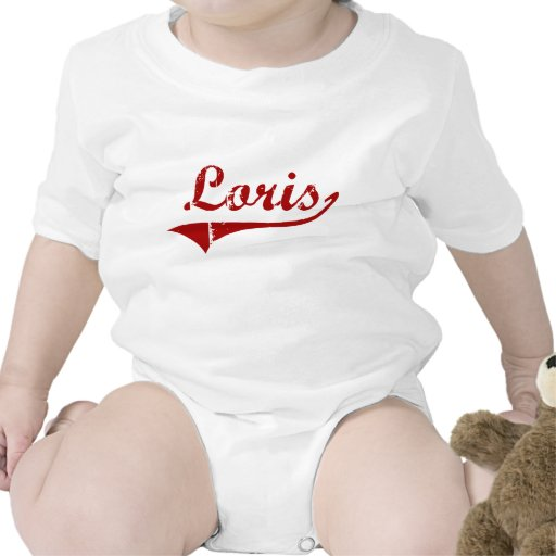 Diseño clásico de Loris Carolina del Sur Camiseta