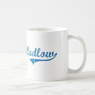 Diseño clásico de Ludlow Kentucky Tazas