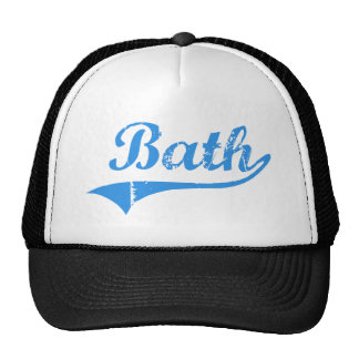 Diseño clásico de Maine del baño Gorras