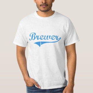 Diseño clásico de Maine del cervecero Playera