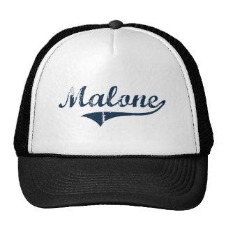 Diseño clásico de Malone Nueva York Gorros Bordados