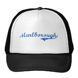 Diseño clásico de Marlborough New Hampshire Gorra