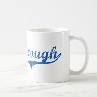 Diseño clásico de Marlborough New Hampshire Tazas De Café