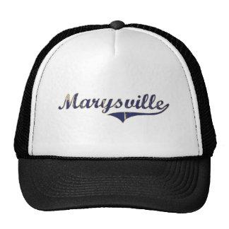 Diseño clásico de Marysville Washington Gorra