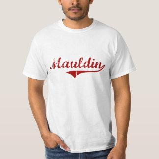 Diseño clásico de Mauldin Carolina del Sur Playeras