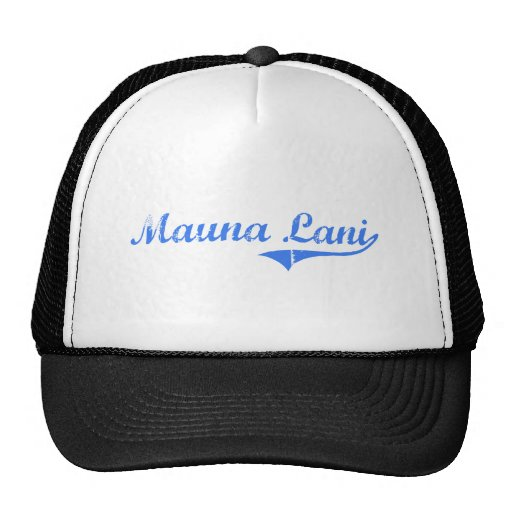 Diseño clásico de Mauna Lani Hawaii Gorra