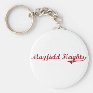 Diseño clásico de Mayfield Heights Ohio Llaveros Personalizados