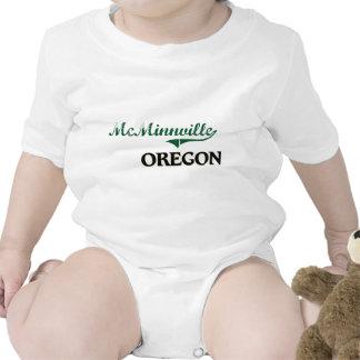 Diseño clásico de McMinnville Oregon Camisetas