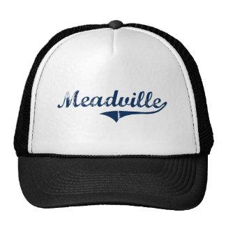 Diseño clásico de Meadville Pennsylvania Gorras De Camionero