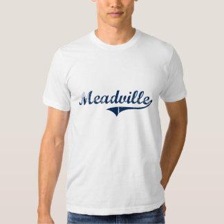 Diseño clásico de Meadville Pennsylvania Playeras