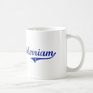 Diseño clásico de Merriam Kansas Tazas De Café
