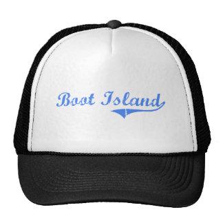 Diseño clásico de Michigan de la isla de la bota Gorro De Camionero