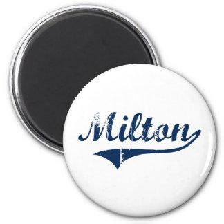 Diseño clásico de Milton Pennsylvania Imán Redondo 5 Cm