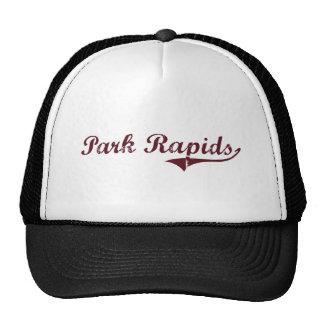 Diseño clásico de Minnesota de los Rapids del parq Gorros Bordados