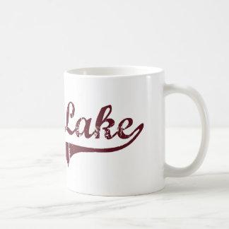 Diseño clásico de Minnesota del lago eagle Tazas De Café