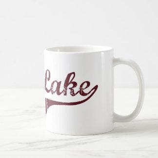 Diseño clásico de Minnesota del lago largo Taza De Café