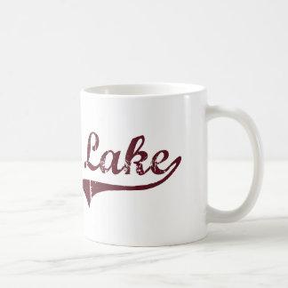 Diseño clásico de Minnesota del lago moose Tazas De Café