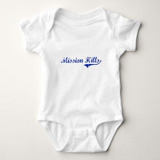 Diseño clásico de Mission Hills Kansas Camisetas