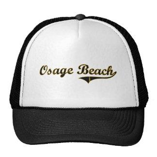 Diseño clásico de Missouri de la playa de Osage Gorros