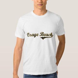 Diseño clásico de Missouri de la playa de Osage Poleras