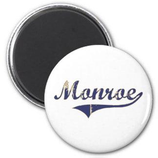 Diseño clásico de Monroe Washington Imán Redondo 5 Cm