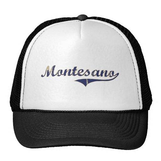 Diseño clásico de Montesano Washington Gorro