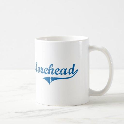 Diseño clásico de Morehead Kentucky Taza Básica Blanca
