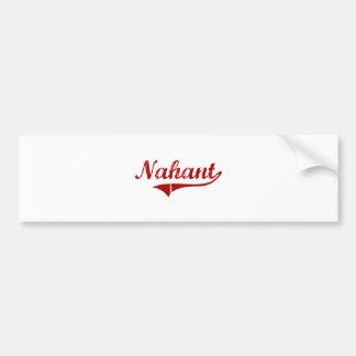 Diseño clásico de Nahant Massachusetts Pegatina Para Auto